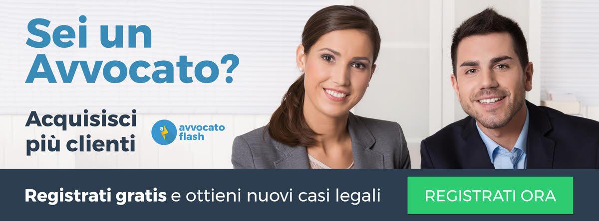 Ottieni nuovi clienti con avvocatoflash