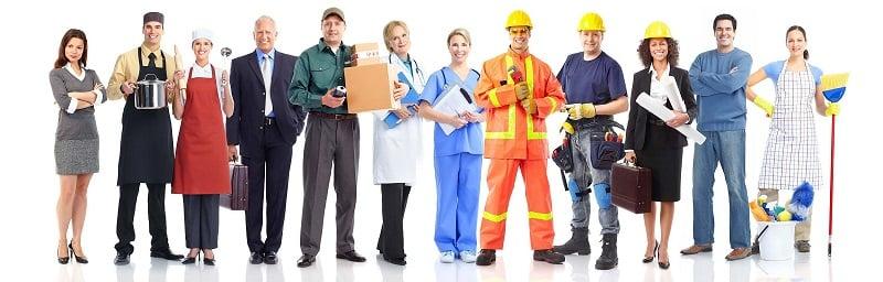 gruppo di lavoratori