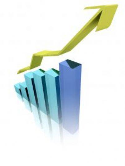 aumento trend grafico crescita