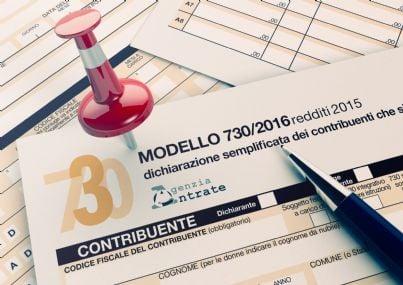 dichiarazione tasse modello 730 del 2016