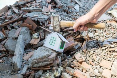 demolizione di un abuso edilizio