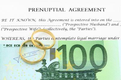 un accordo prematrimoniale