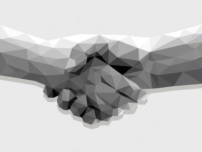 stretta di mani concetto di accordo contratto