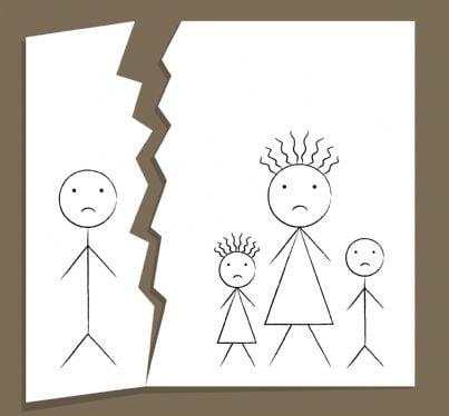 affido figli dopo divorzio concetto separazione