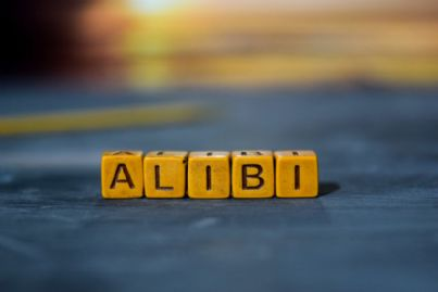parola alibi costruita con mattoncini