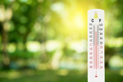 termometro che misura inquinamento ambientale