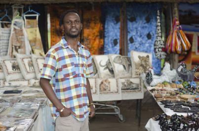 venditore ambulante straniero