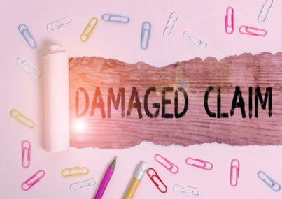 reclamo per danni all'assicurazione
