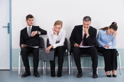 avvocati che attendono di essere chiamati in udienza