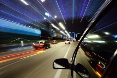 auto blu strada rc autovelox