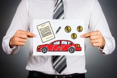 documento auto con risparmio soldi assicurazione