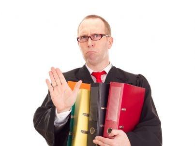avvocato carico di lavoro
