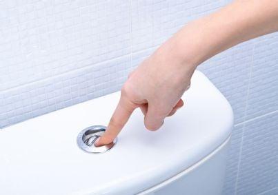 sciacquone del bagno