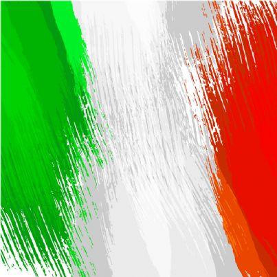 colori della bandiera italiana