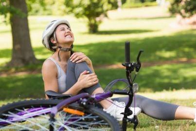 bicicletta incidente caduta infortunio danno biologico