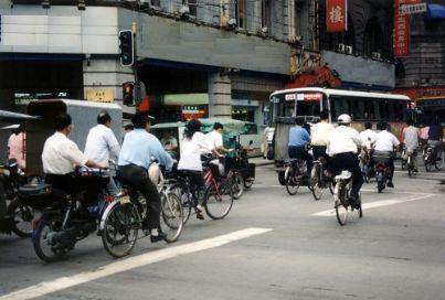 biciclette traffico