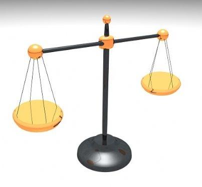 sentenza bilancia