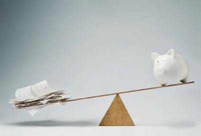 bilancio del risparmio e dei conti concetto legge stabilita