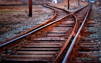 binari delle ferrovie