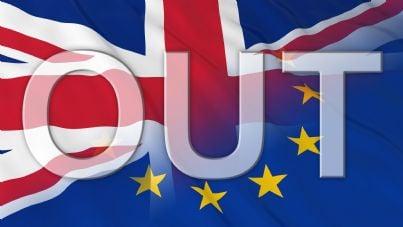 Brexit simbolo referendum Gran Bretagna fuori Europa