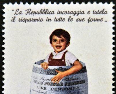 francobollo poste per buoni fruttiferi postali