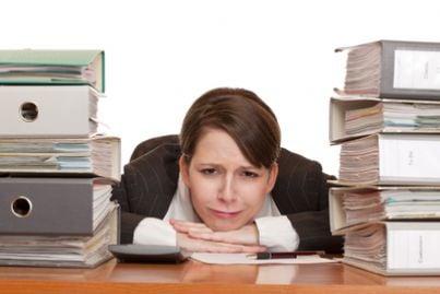 burocrazia carteggio stress mobbing