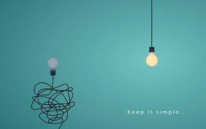 lampadine dritte e non concetto semplificazione