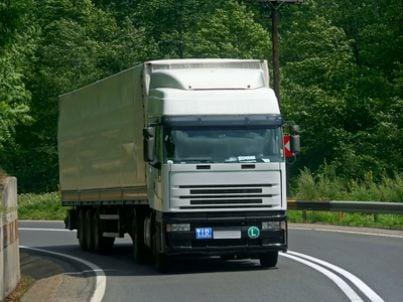 camion tir strada