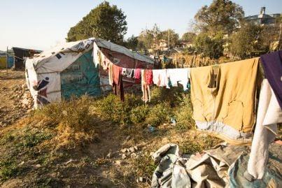 insediamento campo zingari