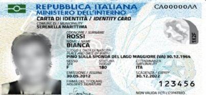 carta di identita elettronica