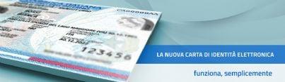esempio di carta identità elettronica