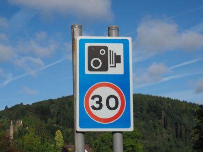 Il nuovo limite di velocità di 30 km/h