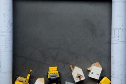 costruzione di case concetto di proprieta