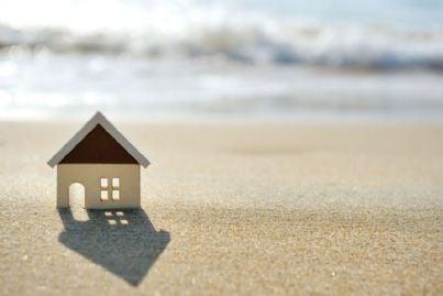 casa vacanze sulla sabbia