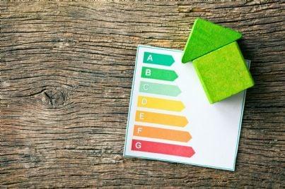 casa su legno con livelli di efficienza energetica