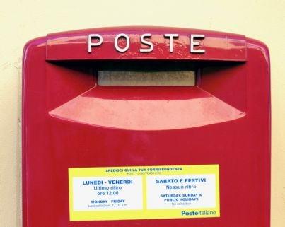 cassetta postale italiana