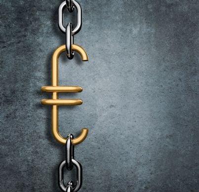 catena con euro per link tax