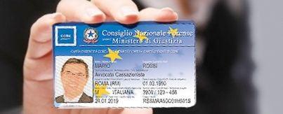 Card avvocati Ccbe europea