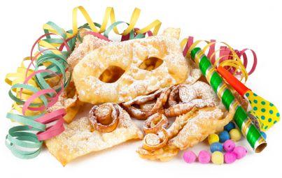 chiacchiere tipici dolci carnevale italiano