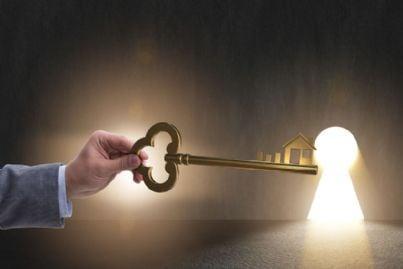 chiave di aiuto per il successo di impresa