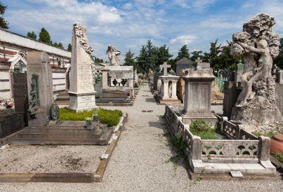 cimitero monumentale in Italia