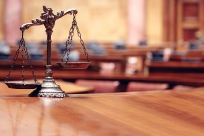 Bilancia che esprime il concetto di giustizia