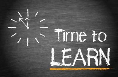 tempo per imparare e formarsi