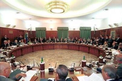 seduta del Consiglio Superiore della Magistratura