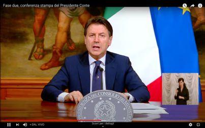 conferenza di Conte del 26 aprile 2020