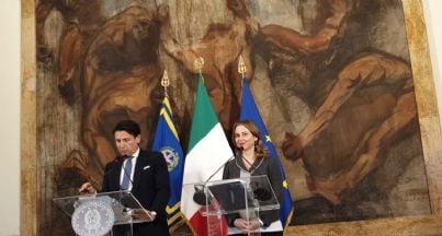 premier Conte e ministro Grillo Cdm in prefettura a Reggio Calabria
