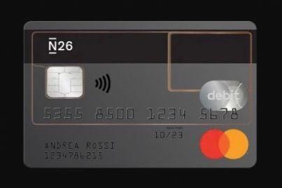 carta del conto n26