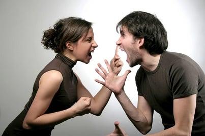 divorzio lite litigano