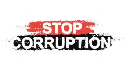 stop alla corruzione