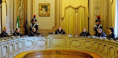 Aula della Corte Costituzionale